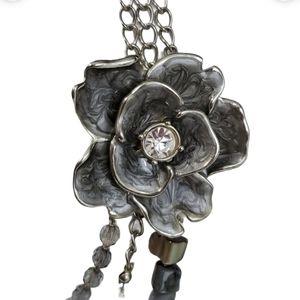"""16"""" NY multi strand Flower Necklace"""